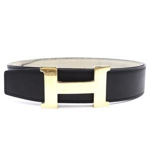 Hermes Reversible H Plate Belt